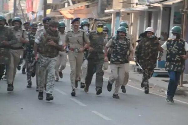 डीआईजी ने संभाली मुंगेर की कमान, शहर में निकला फ्लैग मार्च