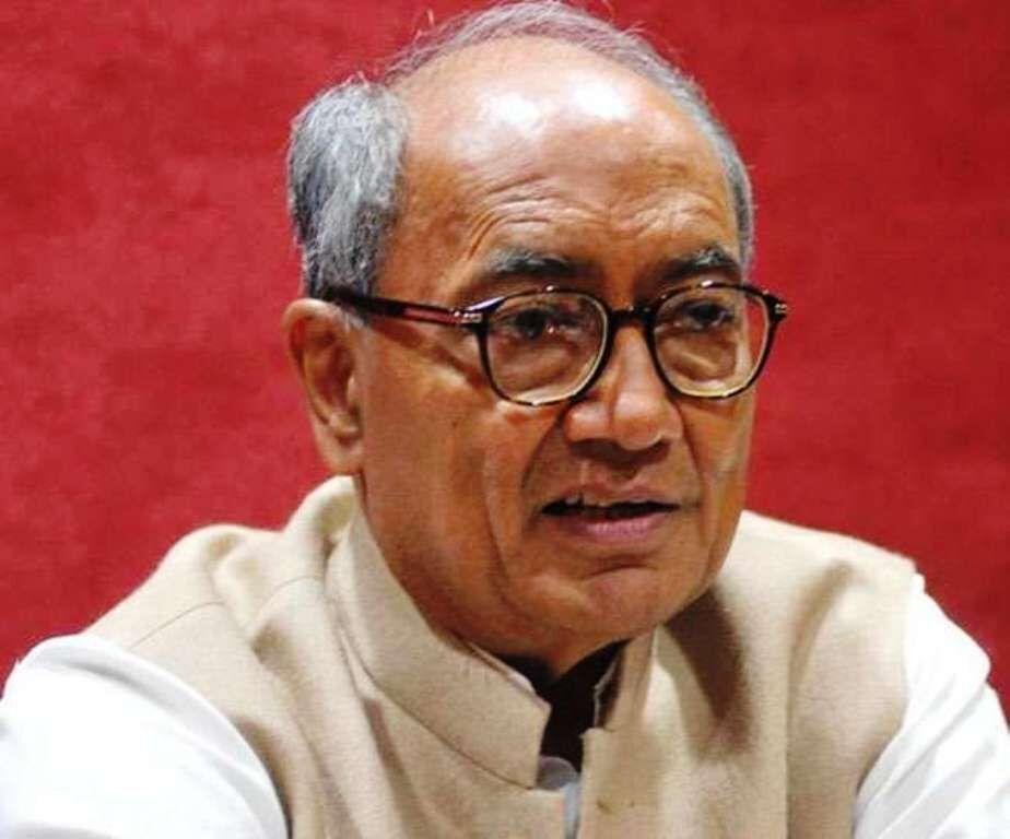 दिग्विजय सिंह आये कमलनाथ के पक्ष में, चुनाव आयोग की कार्रवाई पर उठाये सवाल