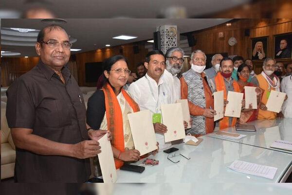 उप्र : राज्यसभा चुनाव में 10 प्रत्याशी चुने गए निर्विरोध, 8 पर बीजेपी एक-एक पर सपा-बसपा