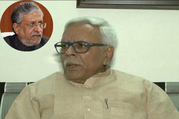 शिवानंद तिवारी बोले - बिहार में सुशील मोदी किसी भाजपा नेता को बढ़ने नहीं दे रहे थे, इसलिए पार्टी ने काटा पत्ता