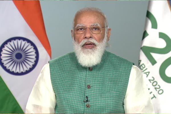 जी-20 शिखर सम्मेलन में पीएम मोदी ने कहा - भारत ने कम कार्बन और जलवायु अनुकूल विकास प्रक्रियाओं को अपनाया