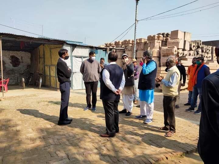 राम मंदिर निर्माण के लिए ट्रस्ट ने L&T के साथ अनुबंध की औपचारिकता पूरी की