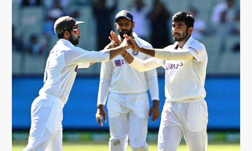 भारत ने ऑस्ट्रेलिया के 195 रन के जवाब में 1 विकेट पर 36 रन बनाये