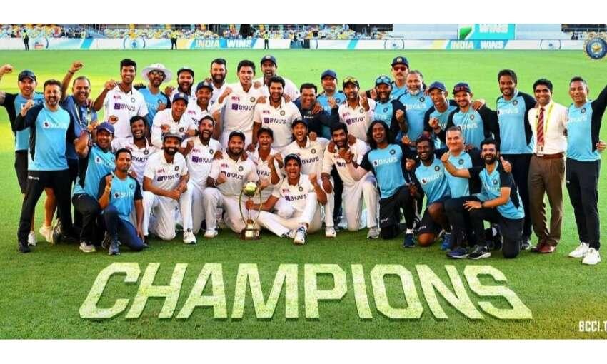 भारत ने 2-1 से जीती टेस्ट सीरीज, चौथे टेस्ट में ऑस्ट्रेलिया को 3 विकेट से हराया