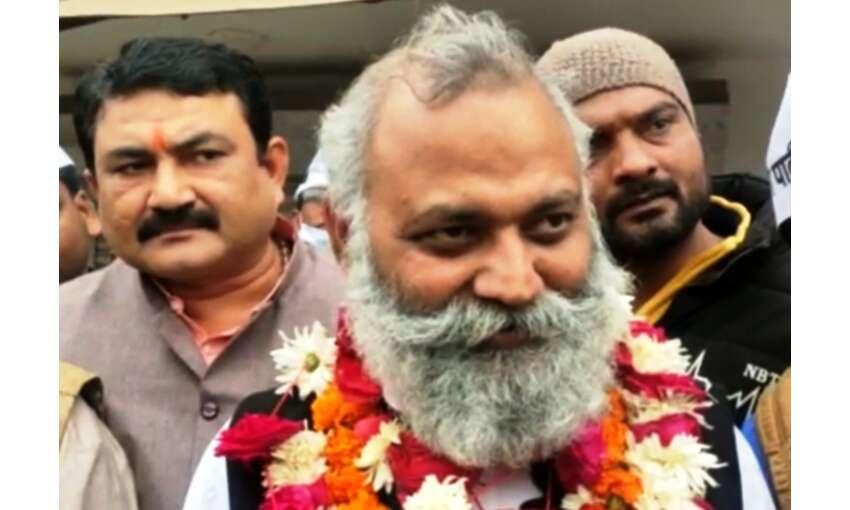 आप विधायक सोमनाथ भारती हुए जेल से रिहा, कहा - सरकार में बौखलाहट