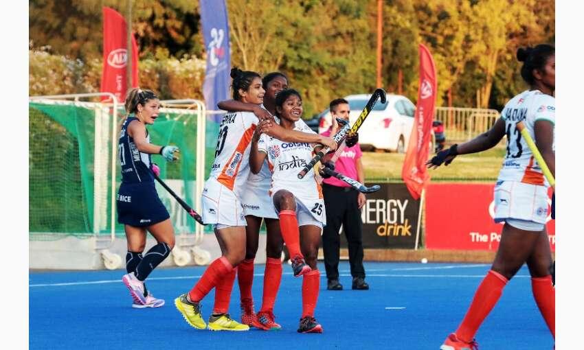 भारतीय जूनियर महिला हॉकी टीम ने चिली की सीनियर महिला टीम के खिलाफ  ड्रा खेला
