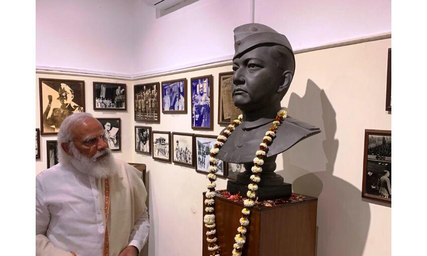 Photo : प्रधानमंत्री मोदी ने नेताजी सुभाष चंद्र बोस के जन्मदिन पर डाक टिकट  जारी किया