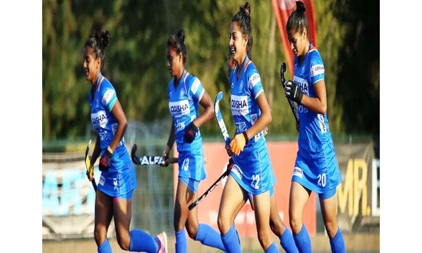भारतीय जूनियर महिला हॉकी टीम ने जीत के साथ समाप्त किया चिली दौरा