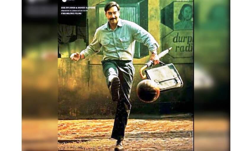 अजय देवगन फिल्म मैदान में कोच की भूमिका में दिखेंगे, 15 अक्टूबर को होगी रिलीज