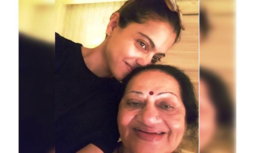 अभिनेत्री काजोल ने सास को खास अंदाज में दी जन्मदिन की बधाई, शेयर की तस्वीरें