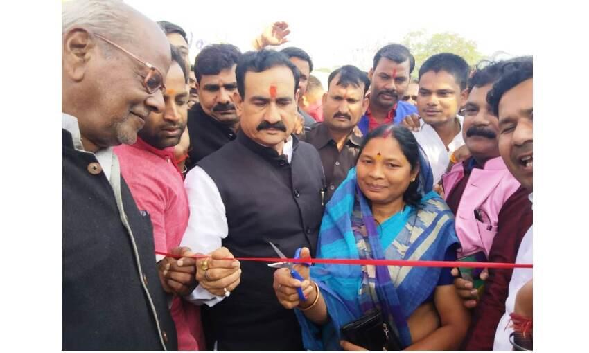 दतिया में शुरू हुआ व्यापार मेला, गृहमंत्री मिश्रा ने किया उद्घाटन