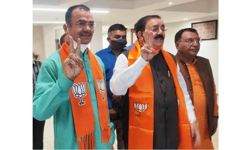 गुजरात से निर्विरोध राज्यसभा पहुंचे भाजपा उम्मीवार , मुख्यमंत्री ने दी बधाई