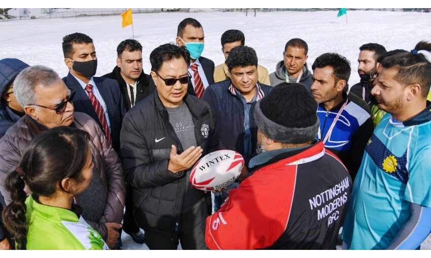 गुलमर्ग विंटर स्पोर्ट्स के लिए एक अंतरराष्ट्रीय स्थल होगा  : खेल मंत्री रिजिजू