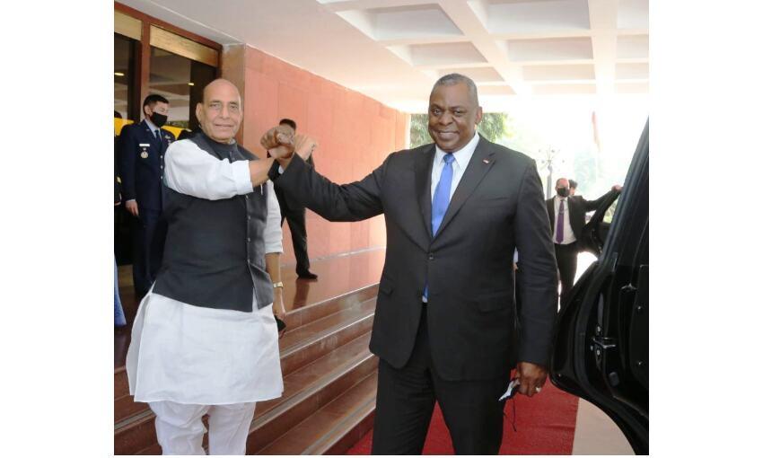 भारत-अमेरिका के बीच बढ़ेगा सहयोग, दोनों देशों के रक्षामंत्रियों के बीच हुई वार्ता