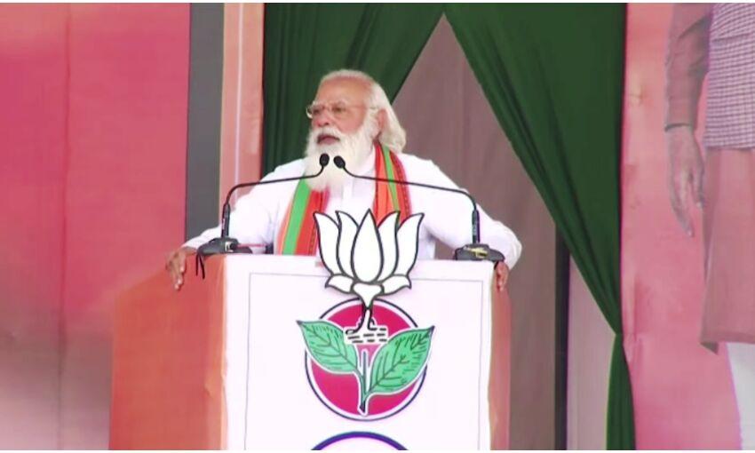 एनडीए के पास विकास और कांग्रेस - डीएमके के पास वंशवाद का एजेंडा : प्रधानमंत्री