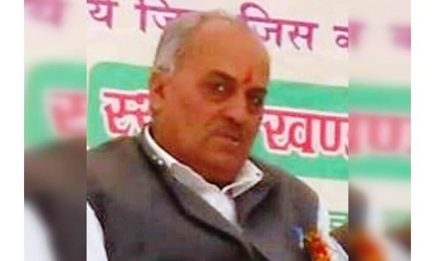 अभाविप के पूर्व प्रदेश उपाध्यक्ष श्याम बिहारी शर्मा का सड़क हादसे में निधन