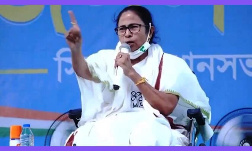 प. बंगाल में ममता बनर्जी नहीं कर पाएंगी प्रचार, चुनाव  आयोग ने लगाई रोक
