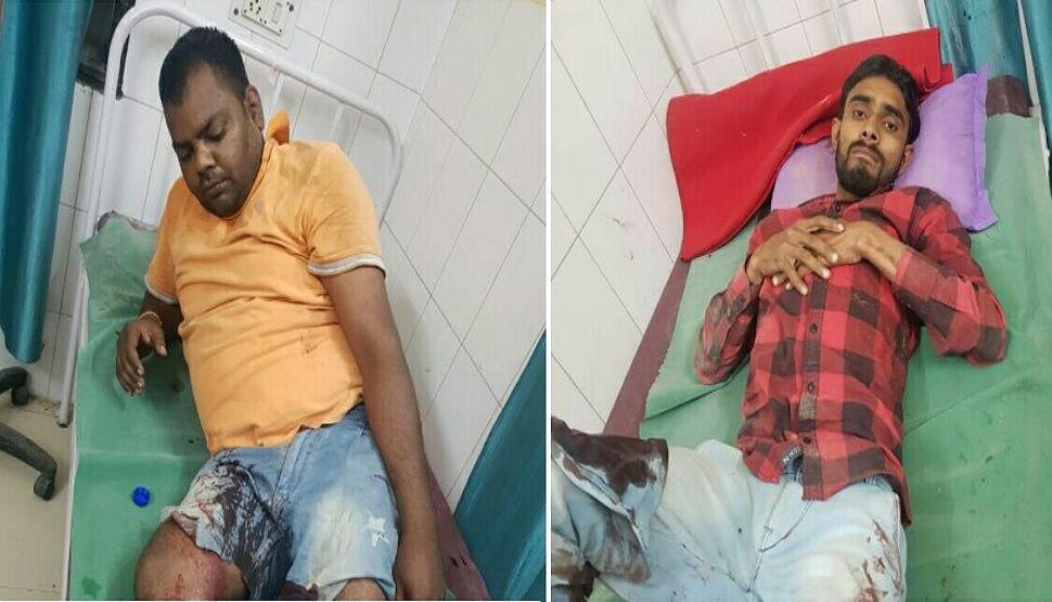 मेरठ: 25-25 हजार के दो इनामी लुटेरे मुठभेड़ के बाद गिरफ्तार, 1 फरार