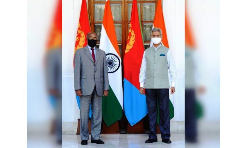 इरिट्रिया के विदेश मंत्री ने एस. जयशंकर से की चर्चा, द्विपक्षीय मुद्दों पर हुई चर्चा