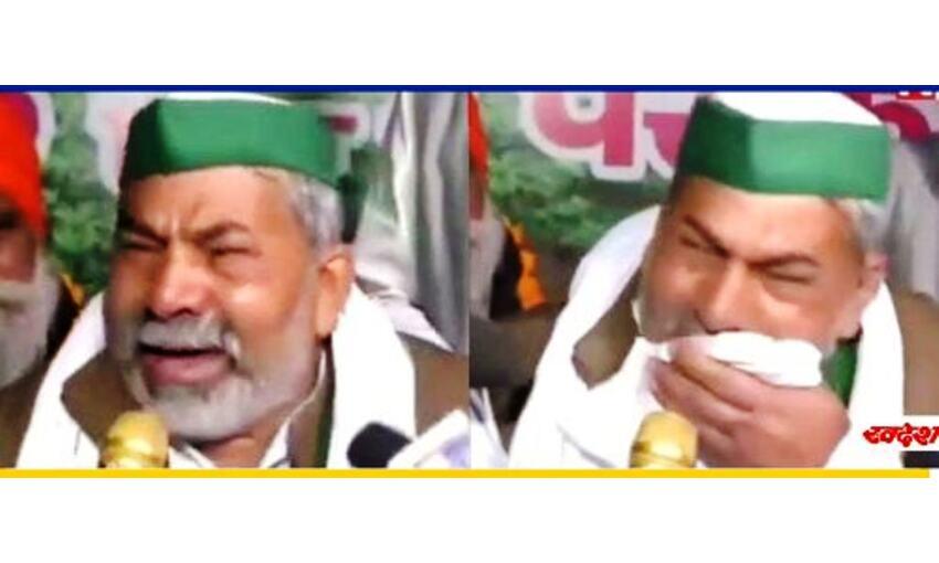 राकेश टिकैत के आंसू के समय उमड़ा था जनसैलाब, हमले के बाद गायब दिखे समर्थक