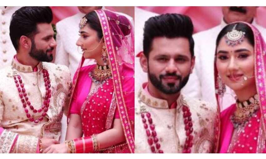 क्या राहुल वैद्य और दिशा परमार ने कर ली है शादी? तस्वीर देख फैंस लगा रहे है कयास