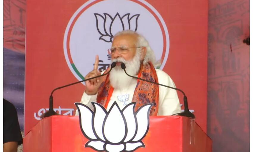 बंगाल में आधे चुनाव में ही टीएमसी पूरी साफ हो गई : प्रधानमंत्री