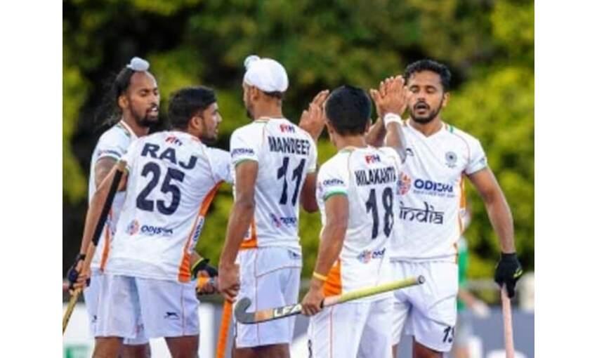 भारतीय हॉकी टीम ने ओलंपिक चैम्पियन ब्राजील को 3-0 से हराया
