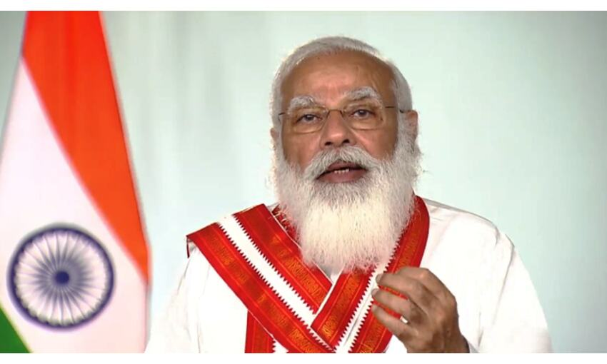 प्रधानमंत्री ने की कोरोना समीक्षा बैठक, कहा - देश इस बार भी देगा महामारी को मात