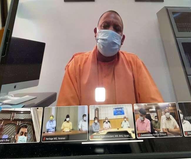 उत्तर प्रदेश में ऑक्सीजन संकट पर CM योगी  नाराज
