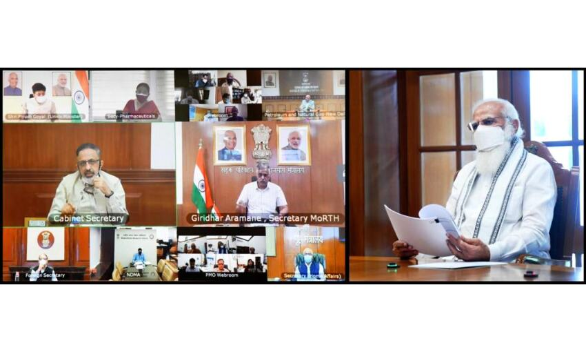 प्रधानमंत्री ने बुलाई उच्च स्तरीय बैठक, कहा - राज्यों को बिना रूकावट हो ऑक्सीजन की सप्लाई