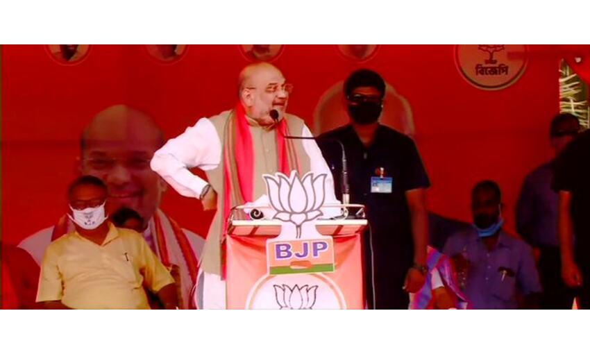 बंगाल में भाजपा की सरकार बनने के बाद राजनीतिक हिंसा पर रोक लगेगी : अमित शाह