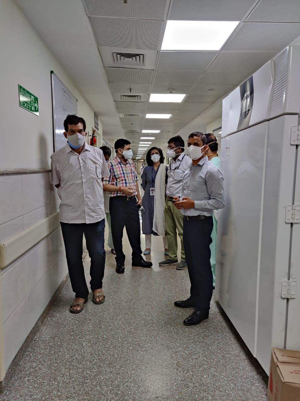 वाराणसी: ट्रामा सेण्टर में 140 व कैंसर अस्पताल में 100 बेड से ऊपर की होगी क्षमता