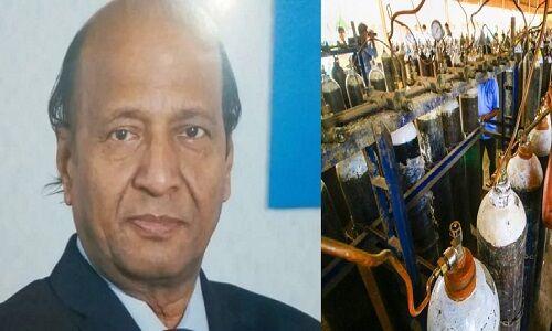 वाराणसी: ऑक्सीजन प्लांट लगाने हेतु उद्योगपति आरके पचौरी ने दिए 1 करोड़