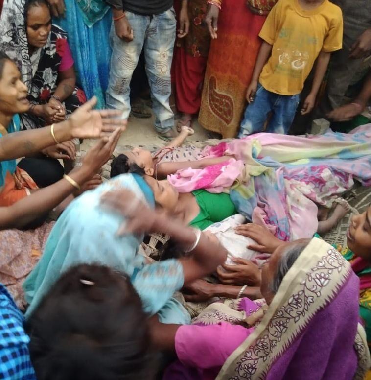 बहराइच: पारिवारिक कलह के चलते महिला ने दो बेटियों संग कुएं में कूदकर दी जान