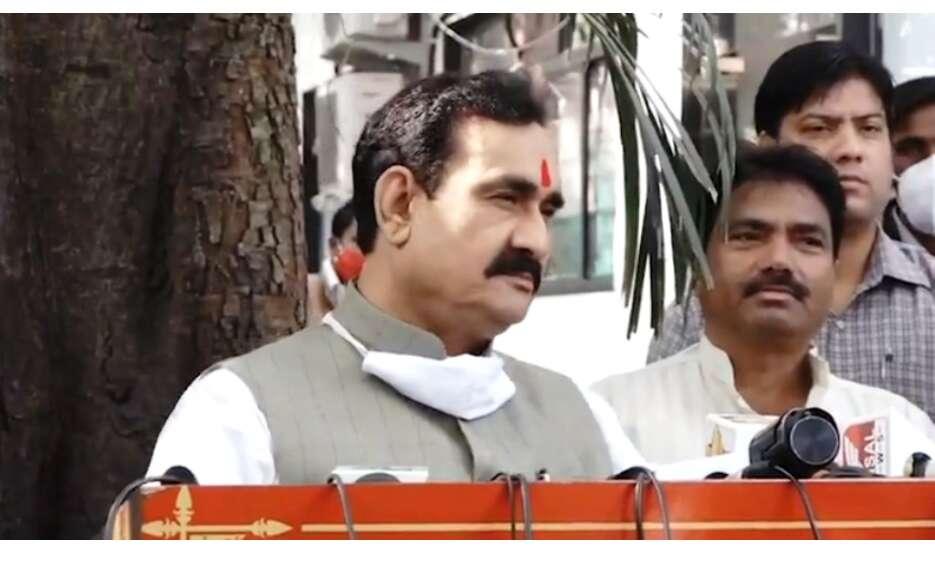 राज्य शासन ने गृहमंत्री नरोत्तम मिश्रा को प्रवक्ता नियुक्त किया