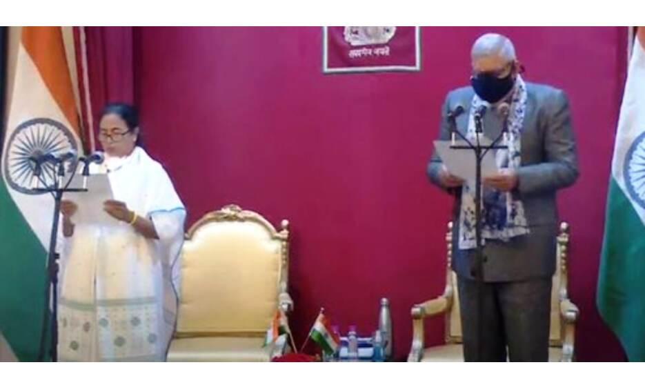 ममता बनर्जी तीसरी बार बनी मुख्यमंत्री, राज्यपाल ने दी नसीहत, कहा - हिंसा बंद हो