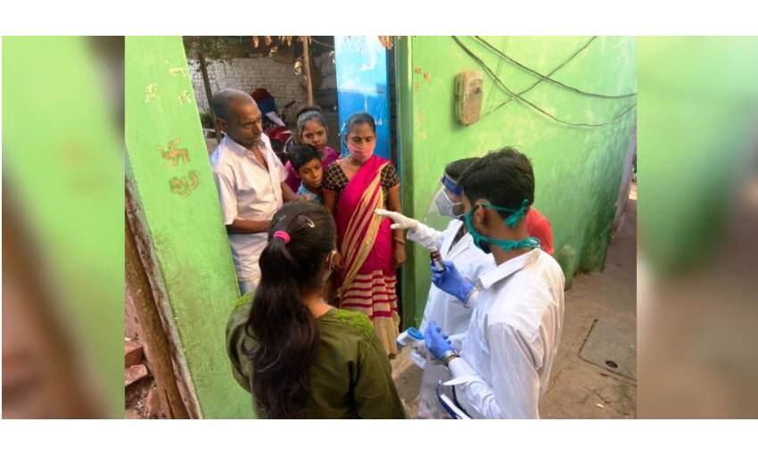 विद्यार्थी परिषद का आरोग्य अभियान जारी, 20 बस्तियों में 705 परिवारों की स्क्रीनिंग