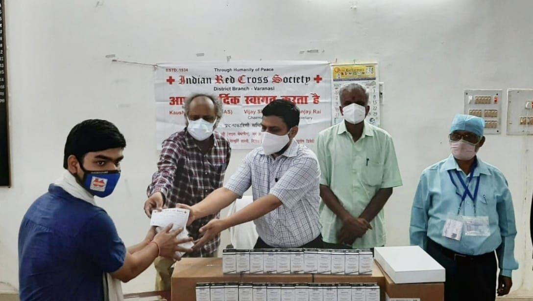 वाराणसी: कोविड मरीज के परिजनों को अब रेमडेसेवीर के लिए नही पड़ेगा भटकना