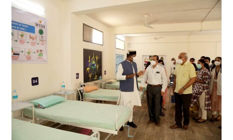 प्रदेश में पहला स्टेप डाउन यूनिट शुरू, गंभीर मरीज होंगे भर्ती