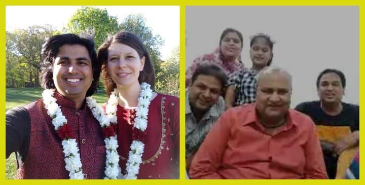 कोरोना का कहर नहीं बन पाया बाधा, ऑनलाइन शादी की, परिवार भी हुआ शामिल