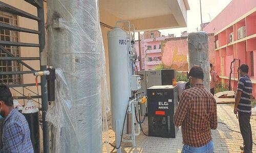CM योगी की पहल पर काशी के दो उद्यमियों ने बनाया ऑक्सीजन प्लांट