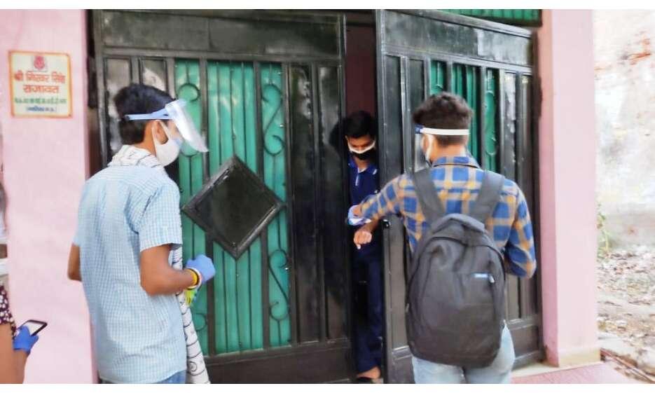 विभिन्न बस्तियों तक पहुँचा एबीवीपी का आरोग्य अभियान