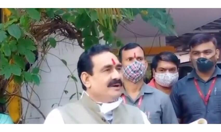 गृहमंत्री मिश्रा ने कमलनाथ को बताया पेगासस का सेल्स पर्सन
