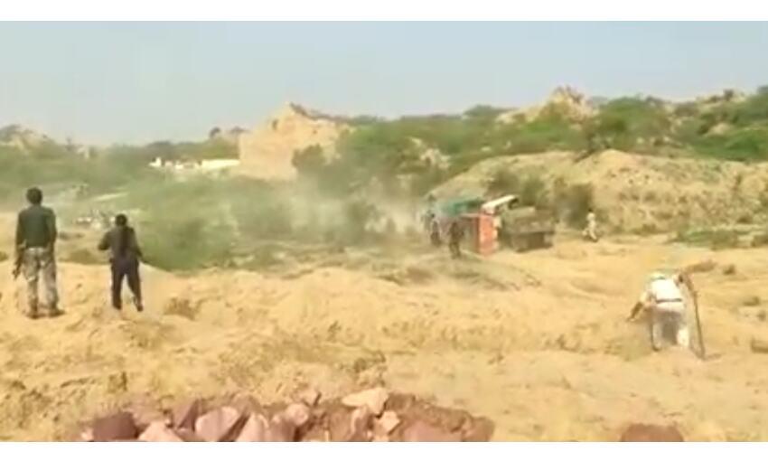 चंबल के रेत माफियाओं के बढ़े हौंसले, पुलिस पर चलाई गोली, एक गिरफ्तार