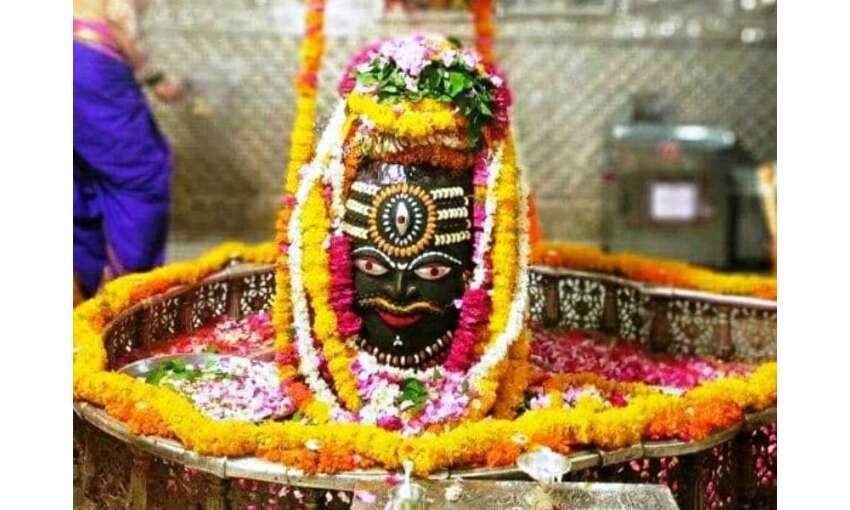 उज्जैन के महाकालेश्वर मंदिर में उमड़ी भीड़, भगवान महाकाल की दूसरी सवारी निकलेगी