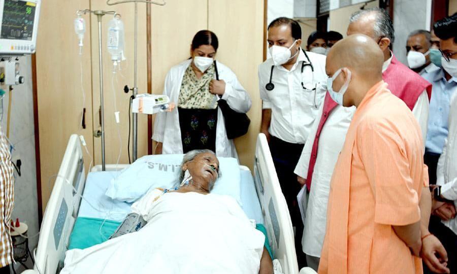 पूर्व मुख्यमंत्री कल्याण सिंह की हालत नाजुक, RML से संजय गांधी पीजीआई किया गया शिफ्ट