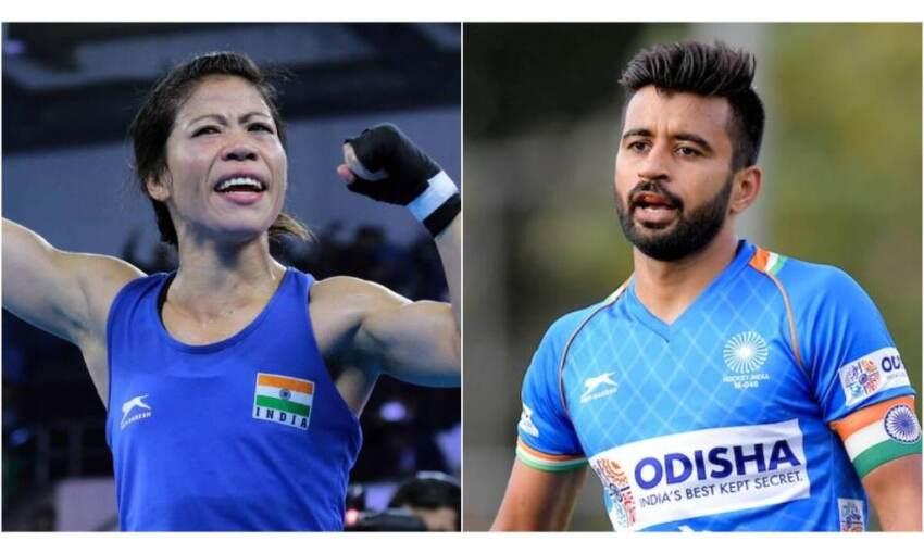 ओलंपिक के उद्घाटन समारोह में मैरीकॉम और मनप्रीत होंगे ध्वजवाहक