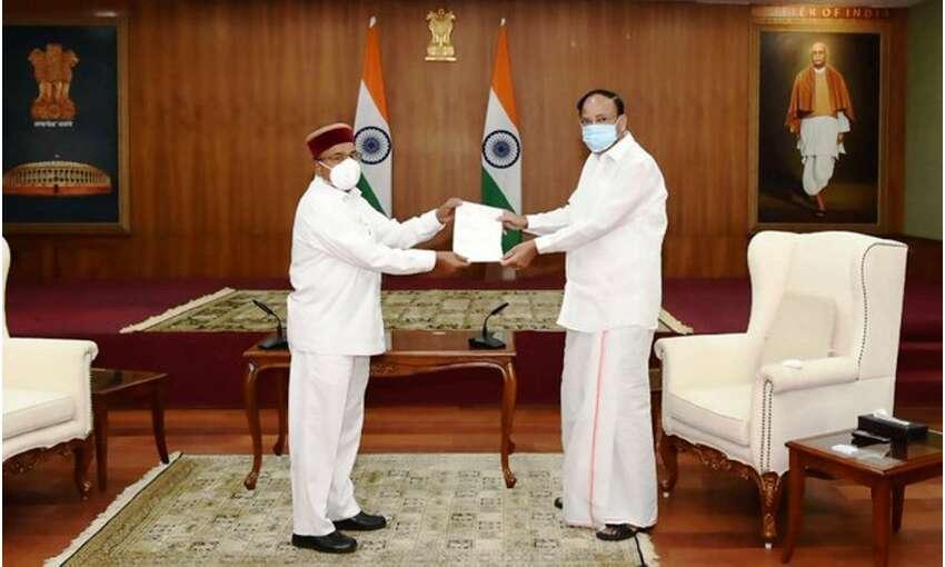 थावरचंद गहलोत ने राज्यसभा से दिया इस्तीफा, सभापति वेंकैया ने किया स्वीकार