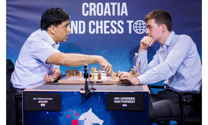 क्रोएशिया टूर्नामेंट में विश्वनाथन आनंद की मिली-जुली शुरुआत