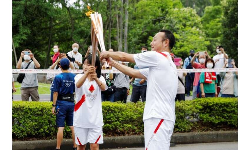 46 प्रान्तों की यात्रा कर टोक्यो पहुंची ओलंपिक मशाल